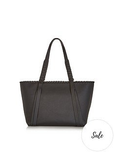 allsaints-kepi-pebble-leather-tote-bag-black