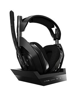 Astro A50 Wireless Headset + Base Station Gen 4 for PS4 for PC