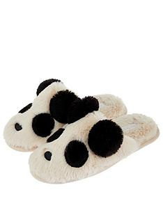 accessorize-panda-mule-slipper-black