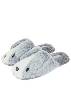 accessorize-bunny-mule-slipper-grey