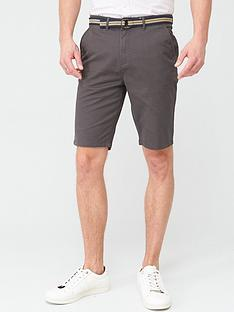 v-by-very-belted-chino-shorts-dark-grey