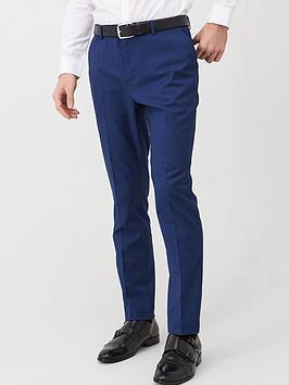 very-man-slim-suit-trousersnbsp--blue