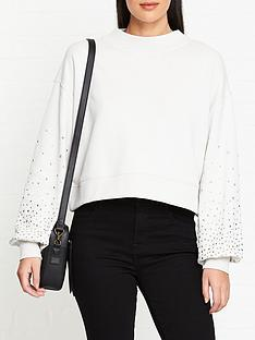 allsaints-star-stud-crop-sweatshirt-ivory