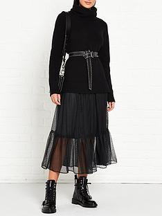 allsaints-tula-jumper-and-mesh-dress-black
