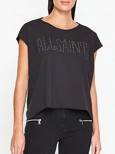 allsaints-star-stud-pina-t-shirt-black