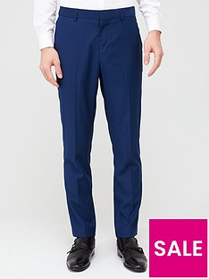 very-man-stretchnbspregular-suit-trousers-blue