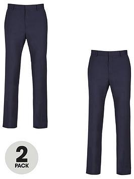 very-man-2-pack-regular-trousers-navy
