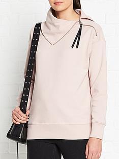 allsaints-bella-zip-sweatshirt-pink