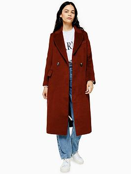 topshop-longline-lepel-coat-burgundy