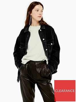 topshop-oversized-denim-jacket-black