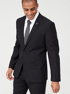 v-by-very-stretch-slimnbspsuit-jacket-black