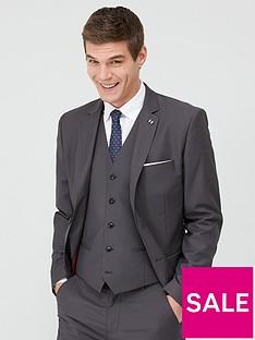 very-man-stretch-slim-suit-jacket-grey
