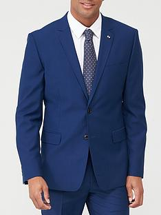 very-man-stretch-slimnbspsuit-jacket-blue