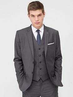 v-by-very-stretch-regular-suit-jacket-grey