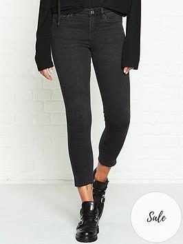 allsaints-grace-mini-stud-skinny-jeans-black