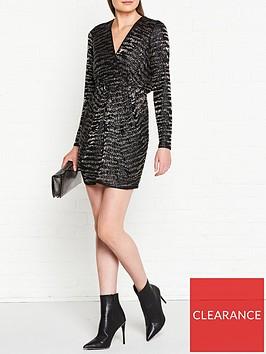 allsaints-laney-embellished-dress-ink