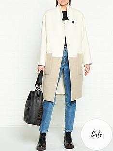 allsaints-rylee-colourblock-coat-whitebrown