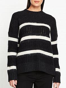 allsaints-siddons-stripe-jumper-blackwhite