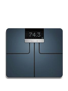 Garmin Index Smart Scale With Connected Features - Measures Weight, Body Mass Index, Body Fat, Muscle Mass And More - Black