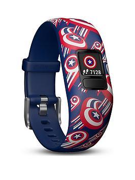 garmin-vivofit-jr-2-marvel-captain-america-fitness-activity-tracker-for-kids-adjustable-band-multicolour