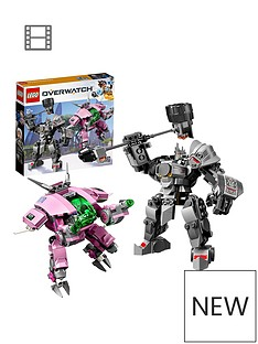 LEGO Overwatch 75973 D.Va & Reinhardt with Minifigures