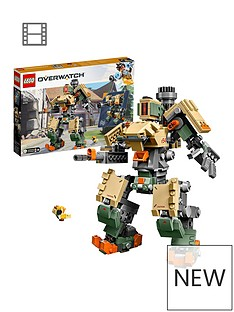 LEGO Overwatch 75974 Bastion and Ganymede Figure