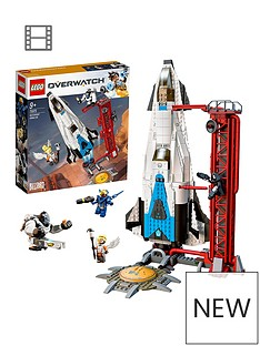 lego-overwatch-75975-watchpoint-gibraltar-with-pharah-mercy-amp-reaper