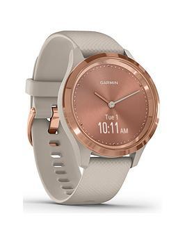 garmin-vivomove-3s-hybrid-smartwatch-light-sand-silicone-strap-with-rose-gold-hardware