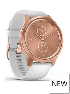 garmin-vivomove-style-hybrid-smartwatch-white-silicone-strap-with-rose-gold-hardware