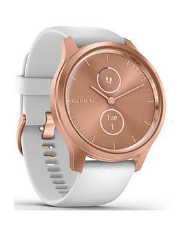 garmin-vivomove-style-hyrbid-smartwatch-white-silicone-strap-with-rose-gold-hardware