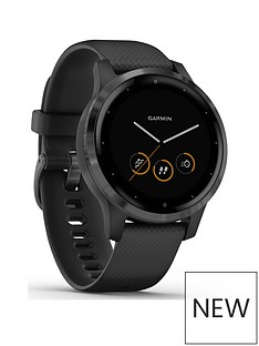 garmin-vivoactive-4s-smaller-sized-gps-smartwatch-features-music-body-energy-monitoring-animated-workouts-pulse-ox-sensors-and-more-pvd-blackslate