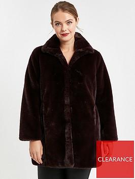 evans-faux-fur-funnel-coat