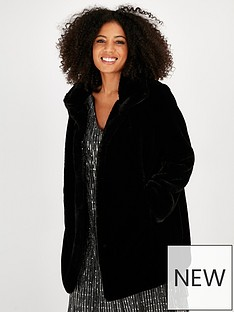 evans-faux-fur-funnel-coat