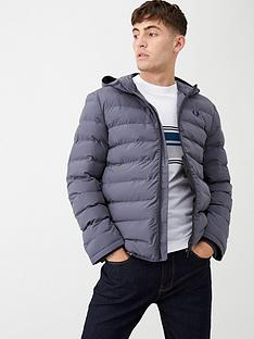 fred-perry-insulated-hooded-jacket-charcoal