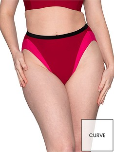 curvy-kate-subtropic-high-waist-bikini-bottom-purplepink