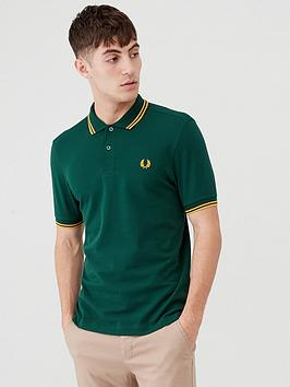 fred-perry-twin-tipped-polo-shirt-evergreen