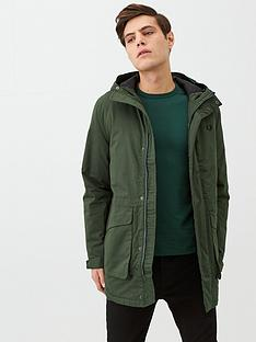fred-perry-padded-hooded-jacket-green