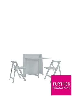 julian-bowen-helsinki-space-saver-dining-table-2-chairs--grey