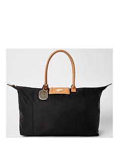 river-island-black-soft-travel-bag