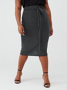 v-by-very-curve-belted-metallic-midi-skirt-silverblack