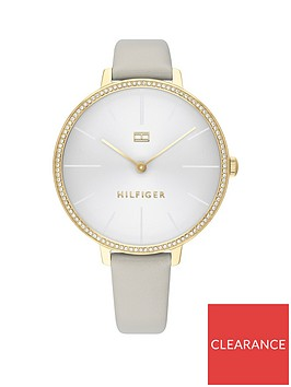 tommy-hilfiger-tommy-hilfiger-silver-sunray-crystal-set-and-gold-detail-dial-grey-leather-strap-ladies-watch