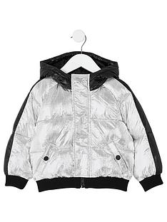 river-island-mini-mini-boys-hooded-padded-jacket-silver