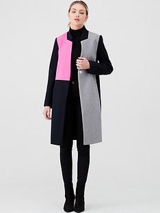 river-island-collarless-colourblock-coat