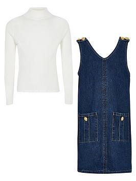 river-island-girls-denim-pinafore-dress-outfit--bluecream
