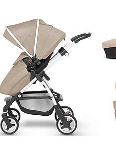 silver-cross-wayfarer-pushchair-accessory-bundle-pushchair-carry-cot-parasol-changing-bag-and-footmuff