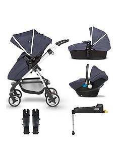 silver-cross-wayfarer-5-piece-bundle-pushchair-carry-cot-simplicity-car-seat-isofix-base-and-simplicity-adaptor