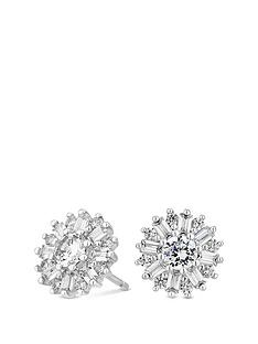 simply-silver-simply-silver-cubic-zirconia-emerald-cut-snowflake-studs