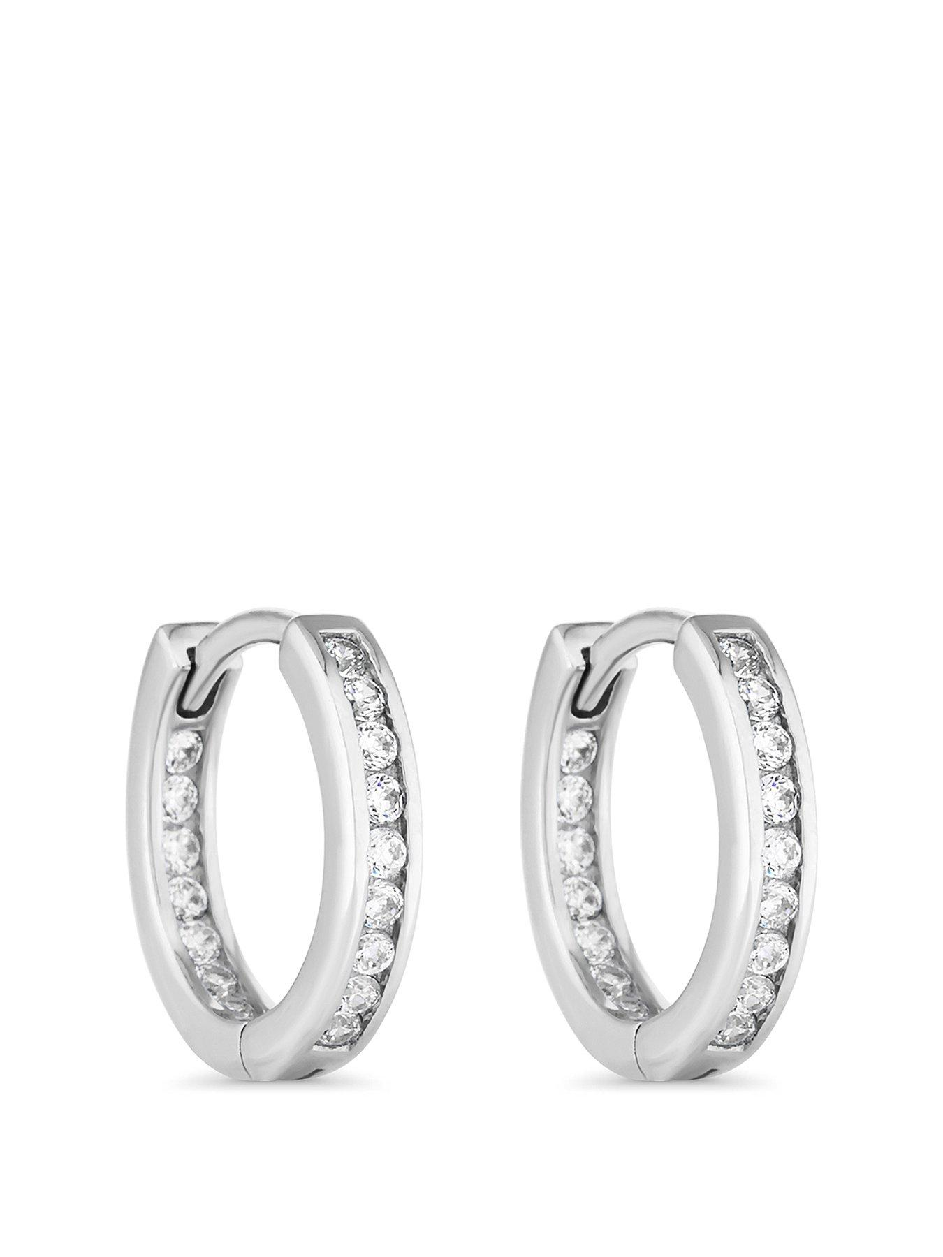9ct yellow gold ribbed classic huggies hoop earrings HOT ARRIVAL /& ON PROMOTION