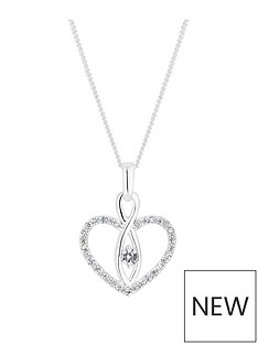 simply-silver-simply-silver-cubic-zirconia-heart-and-infinity-pendant
