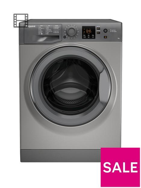 hotpoint-nswm742ugg-7kg-load-1400-spin-washing-machine-graphite